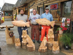 Chainsaw Carving Students