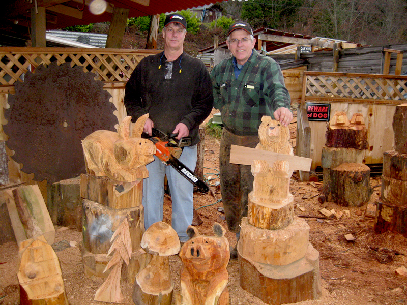 George kenny s school of chainsaw carving